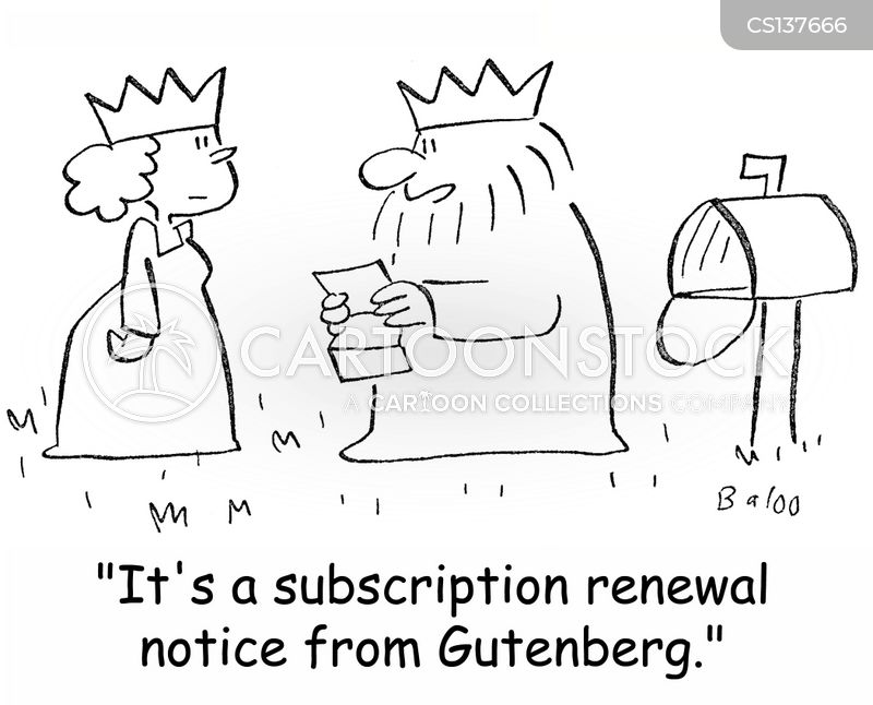 renewal cartoon