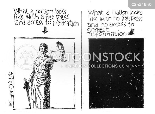 free press cartoon