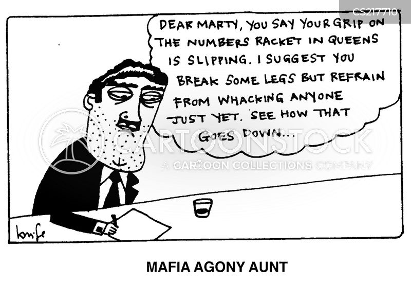 agony aunt cartoon