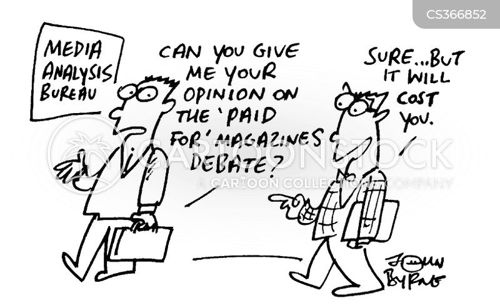paid for cartoon
