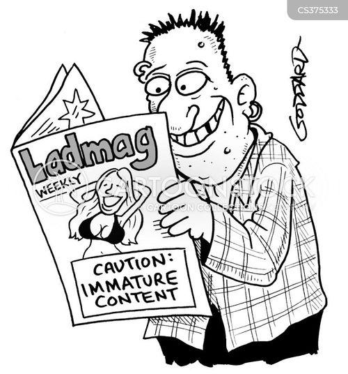 mens magazine cartoon