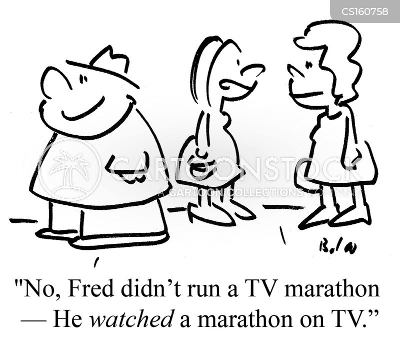 tv marathon cartoon