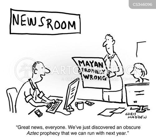 mayan calendars cartoon