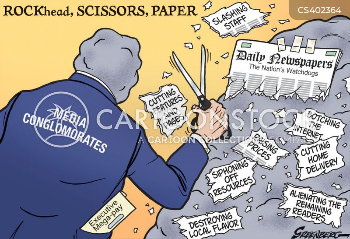 daily newspapers cartoon