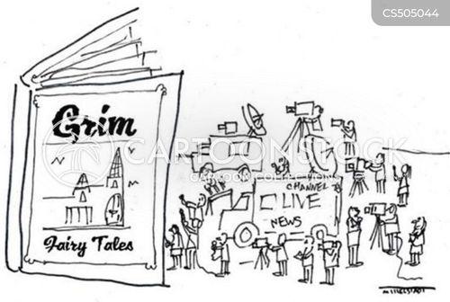 disaster tourism cartoon