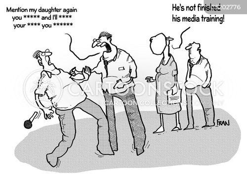 staff training cartoon