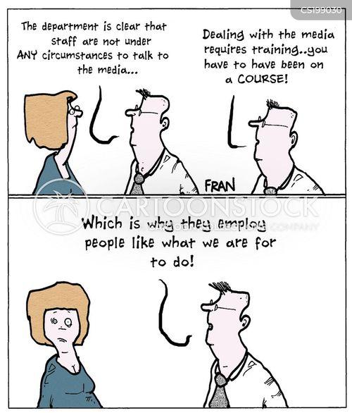 media consultant cartoon