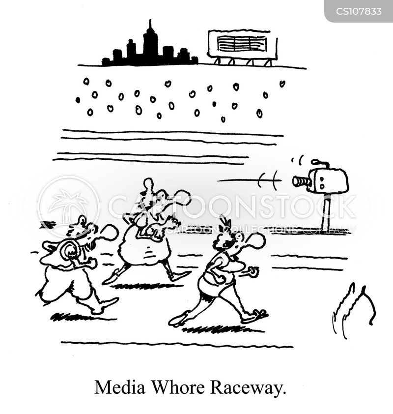 racing track cartoon