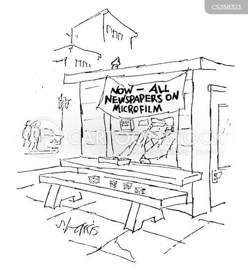 microfiche cartoon