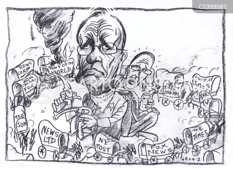 murdoch empire cartoon