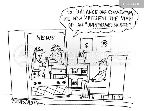 balanced cartoon