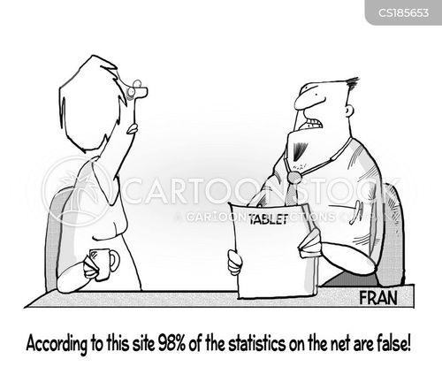 false news cartoon