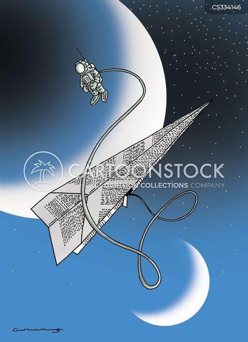 cosmonauts cartoon