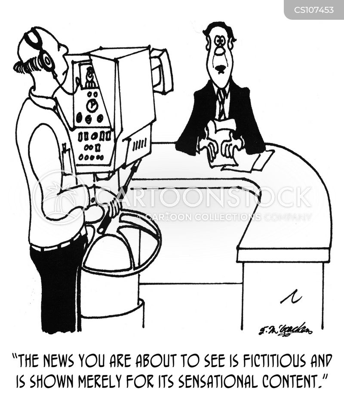 sensationalized cartoon