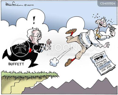 warren buffett cartoon
