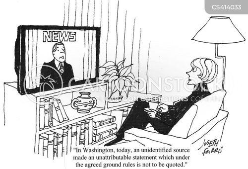 news programme cartoon