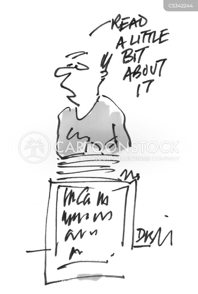 read all about it cartoon
