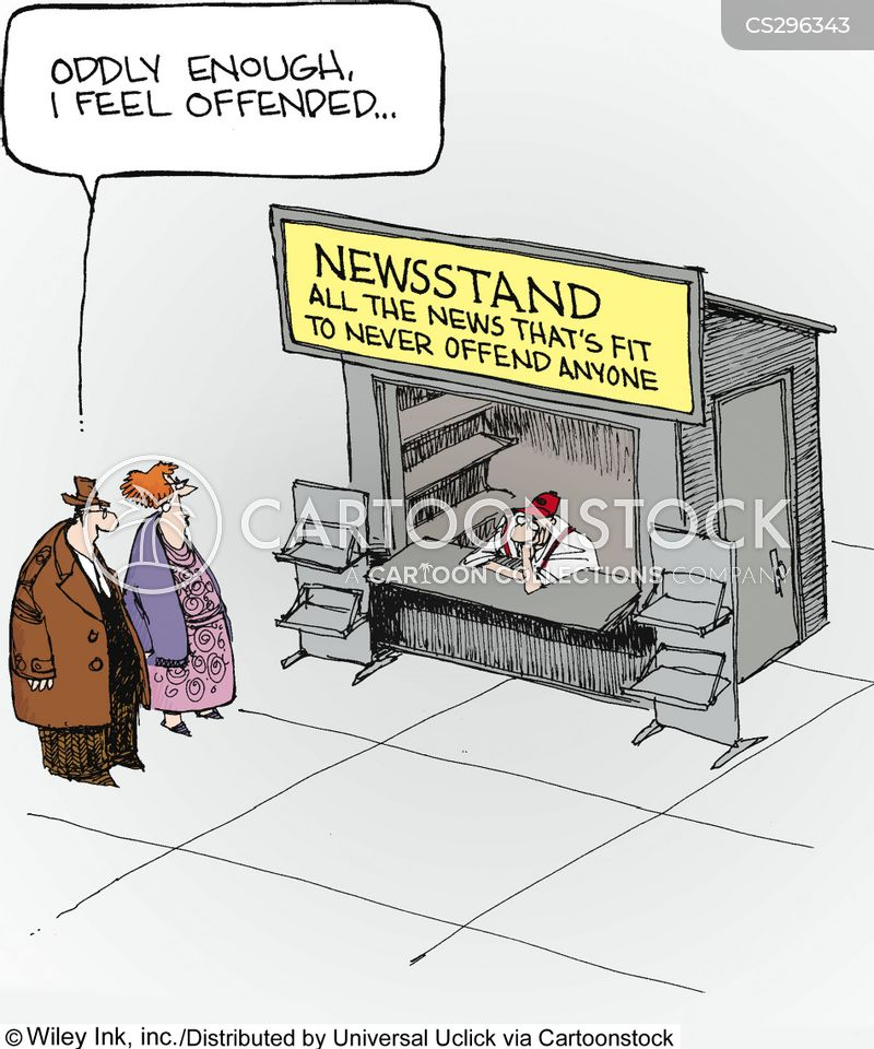 offends cartoon