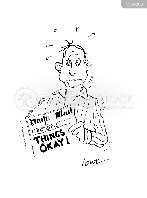 tabloid readers cartoon