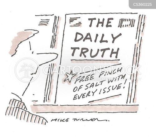 untruths cartoon