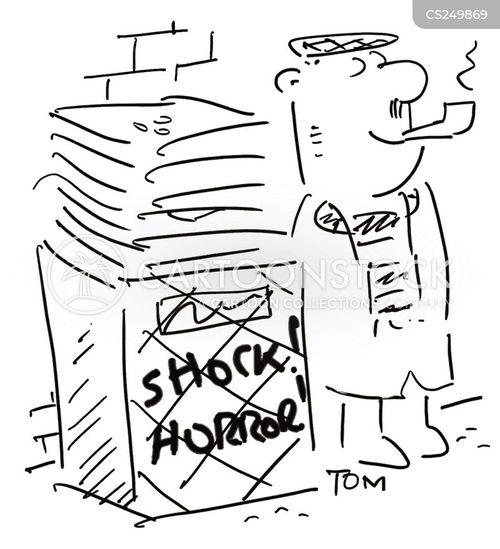 newsvendor cartoon