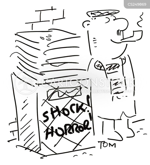 scaremongerers cartoon