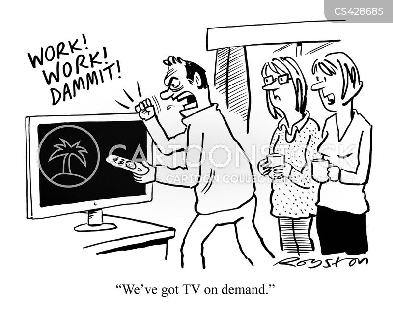 streaming services cartoon