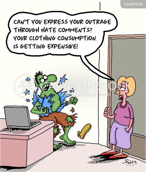 angry rants cartoon
