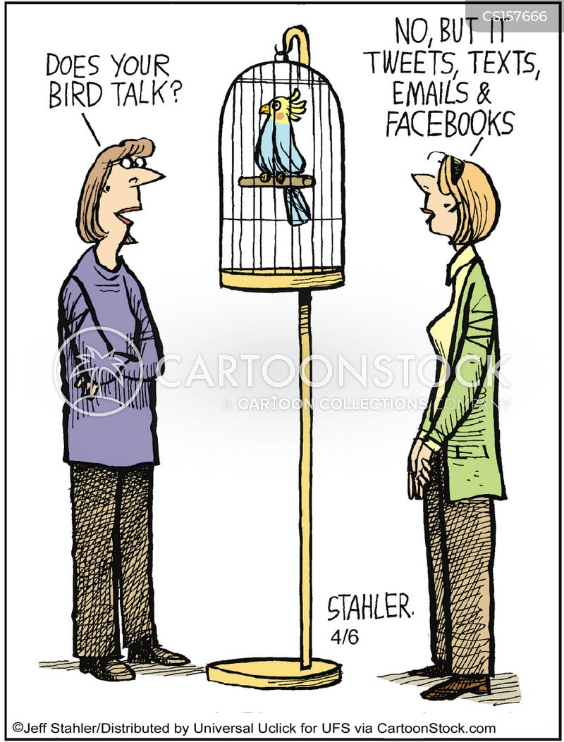 e-mails cartoon