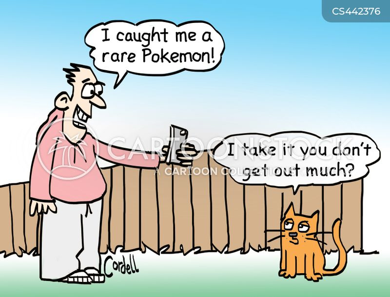 Pokemon Go Cartoons And Comics Funny Pictures From Cartoonstock