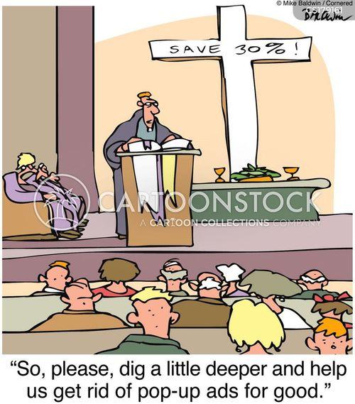 congregation cartoon