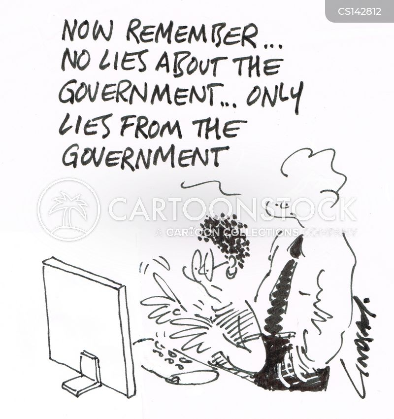 government propaganda cartoon