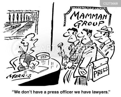 press statements cartoon