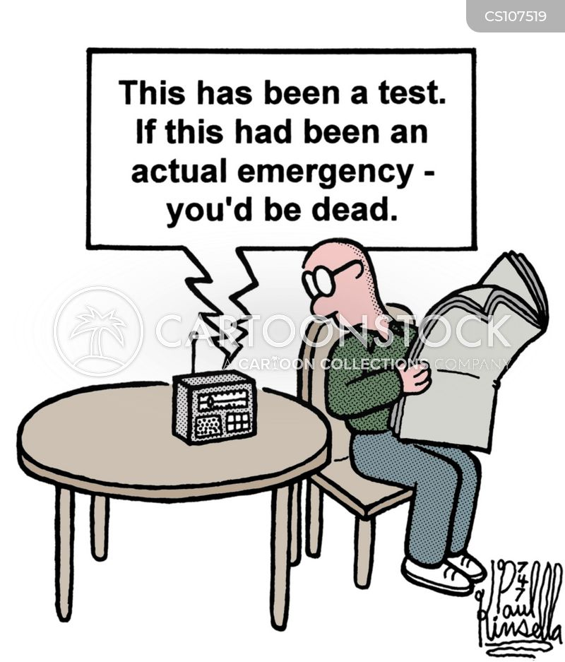 false alarms cartoon