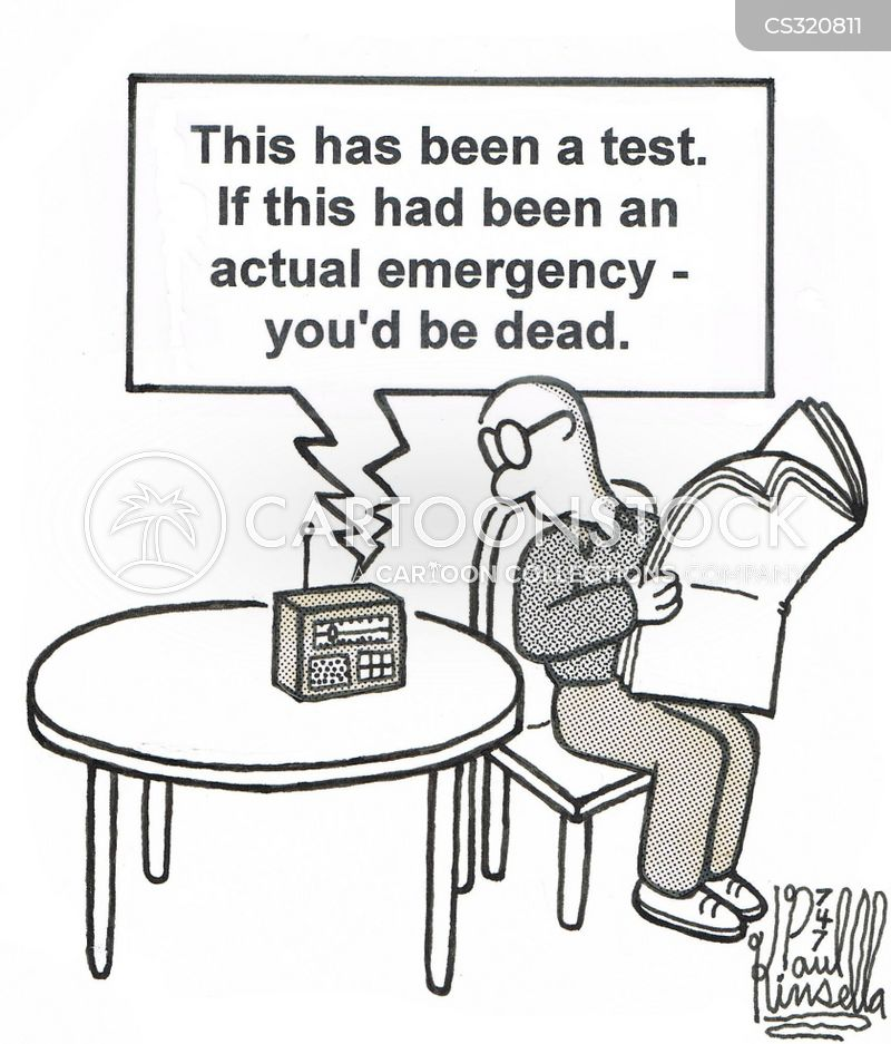 emergency broadcasts cartoon