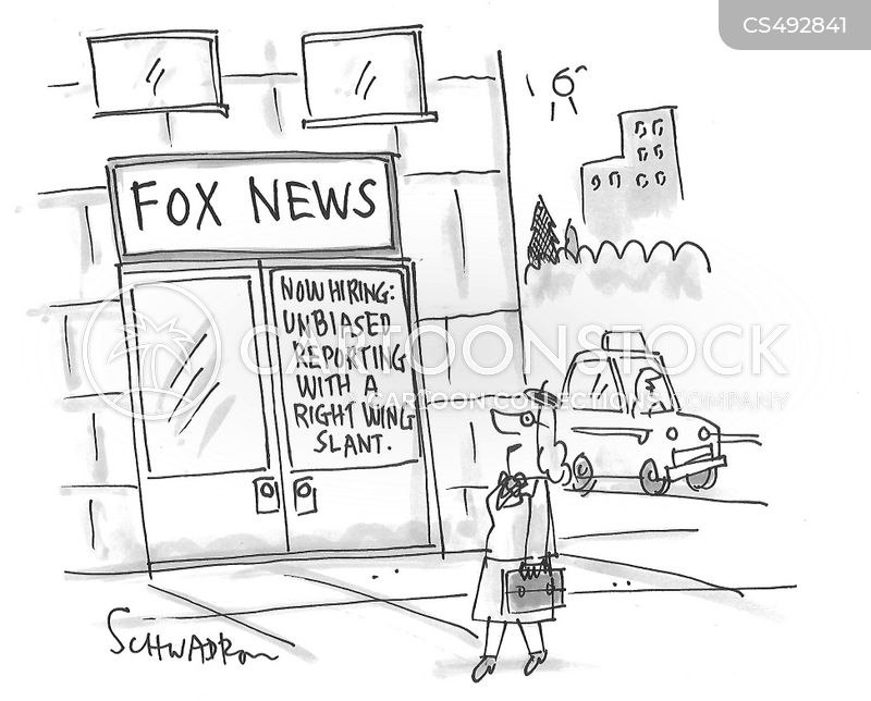 right-wing media cartoon