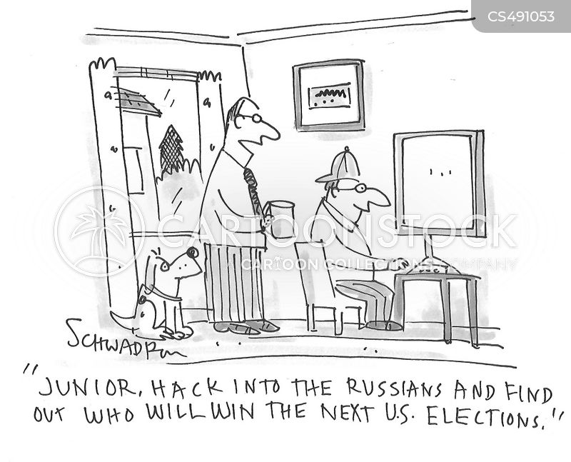 election interference cartoon