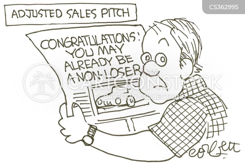 winning prizes cartoon