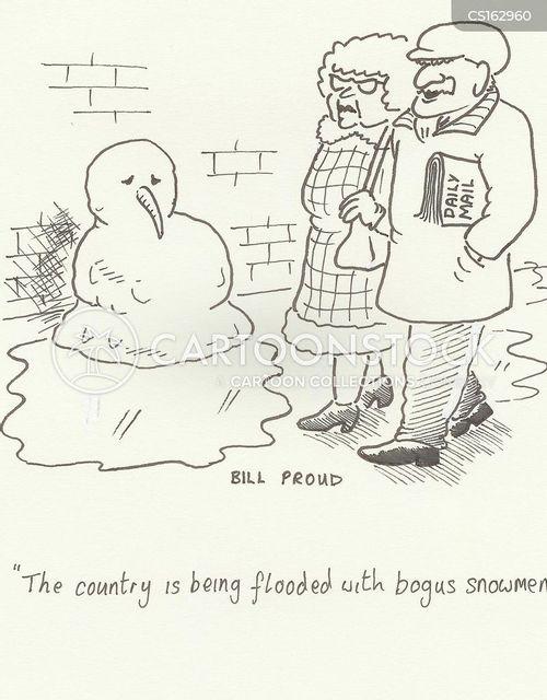 daily mail reader cartoon