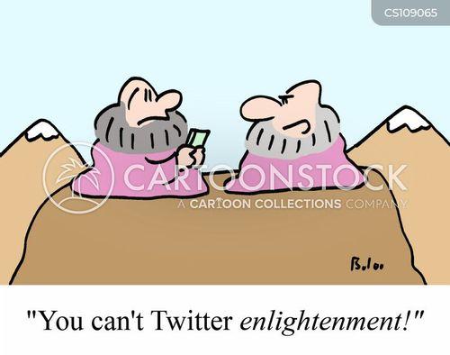 enlightening cartoon