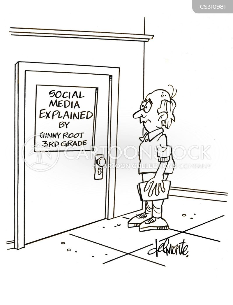 generational difference cartoon