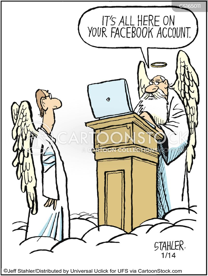 heavens cartoon