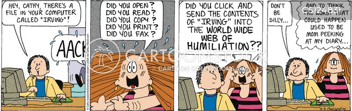 humiliations cartoon