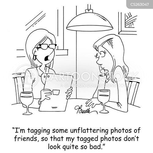 tagged cartoon
