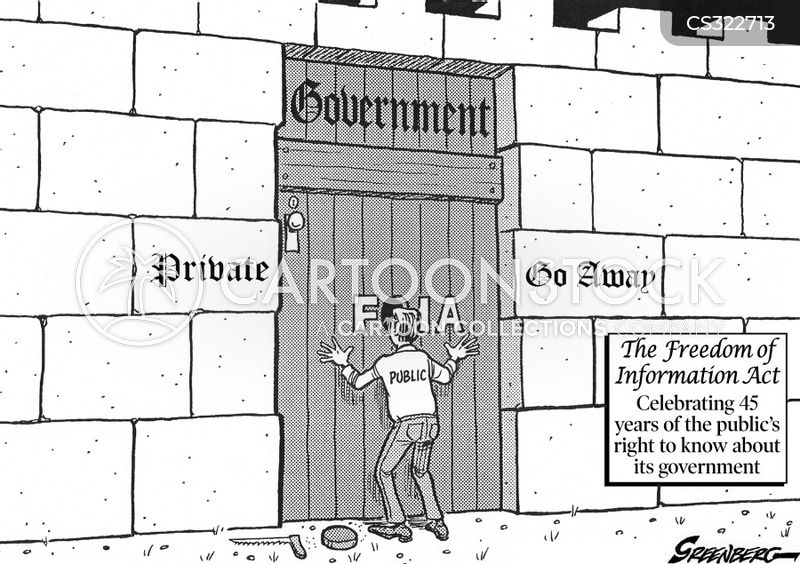 freedom of information act cartoon