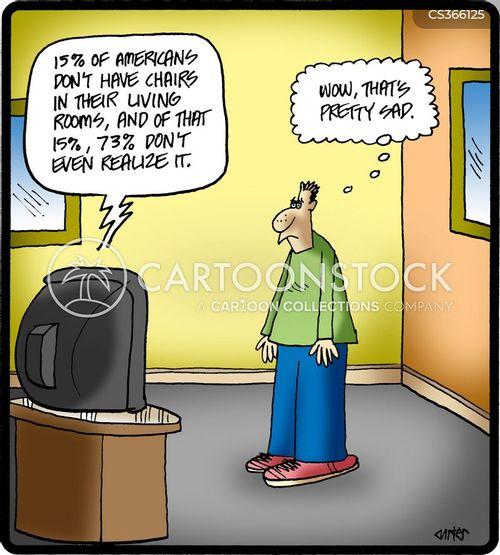 mass media cartoon