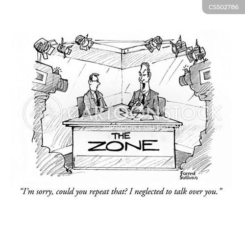 chat-show cartoon