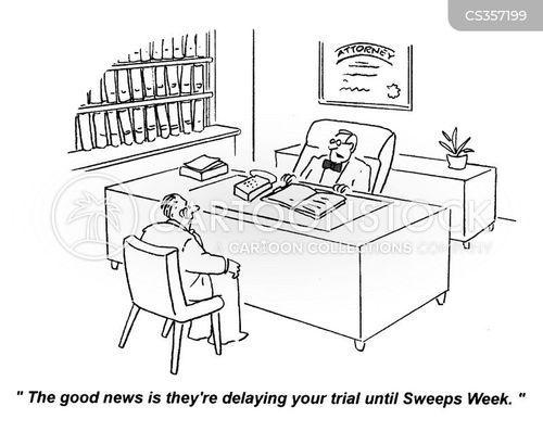 sweeps week cartoon