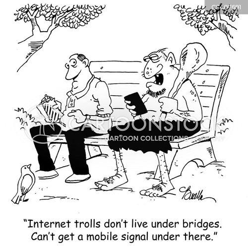 mobile signal cartoon