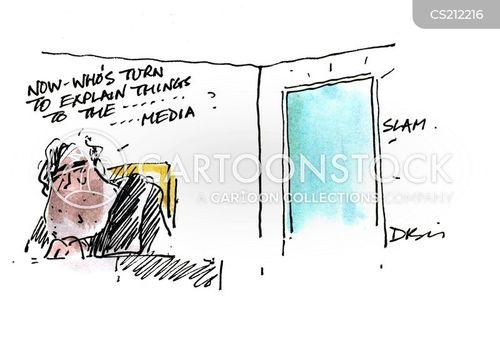 taking turns cartoon